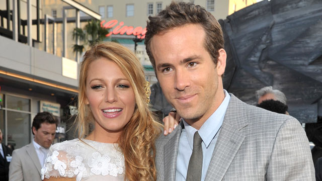 PHOTO: Ryan Reynolds and Blake Lively arrive at Grauman's Chinese Theatre, June 15, 2011 in Hollywood, Calif.