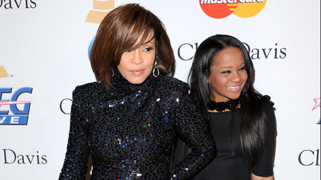 PHOTO: Whitney Houston and Bobbi Kristina Brown