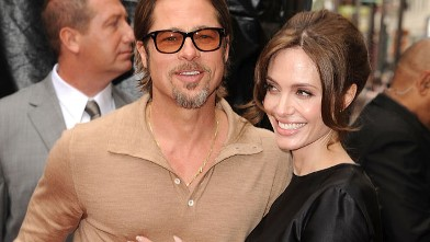 "PHOTO: Brad Pitt and Angelina Jolie attends the Los Angeles premiere of ""Kung Fu Panda 2"" at Grauman's Chinese Theater, May 22, 2011 in Hollywood, California."