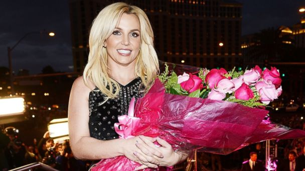 PHOTO: Britney Spears celebrates her official arrival at Planet Hollywood Resort & Casino on December 3, 2013 in Las Vegas, Nevada.