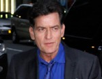 "PHOTO: Charlie Sheen leaves ""The Late Show with David Letterman"" at Ed Sullivan Theater, Jan. 14, 2013, in New York City."