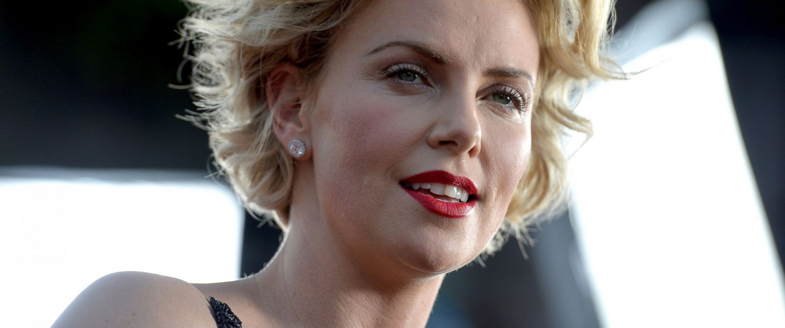 """PHOTO: Actress Charlize Theron attends the premiere of """"A Million Ways To Die In The West"""" on May 15, 2014 in Westwood, Calif."""