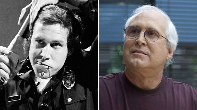 """PHOTO: Chevy Chase as Aramis McCord during the """"Police State"""" skit on July 31, 1976. 