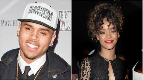 gty chris brown rihanna thg 120102 wblog Chris Brown, Rihanna Reunite on Birthday Cake, Turn Up the Music Remixes