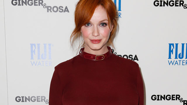 "PHOTO: Christina Hendricks attends the screening of A24 Films' ""Ginger & Rosa"" at The Paley Center for Media on Nov. 8, 2012, in Beverly Hills, Calif."
