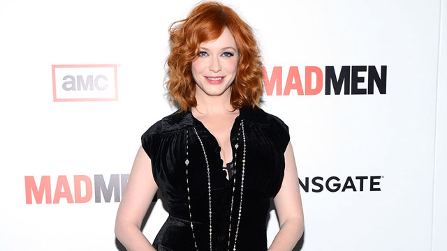 "PHOTO: Christina Hendricks arrives at AMC's ""Mad Men"" Season 6 Premiere on March 20, 2013 in Los Angele."