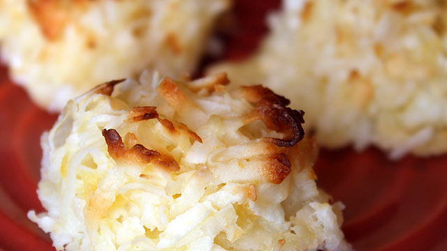 PHOTO: Coconut macaroons are shown in this file photo.