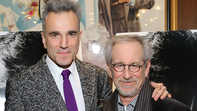PHOTO: Actor Daniel Day-Lewis and director Steven Spielberg attend the special screening of Steven Spielbergs Lincoln, Nov.14, 2012 in New York City.
