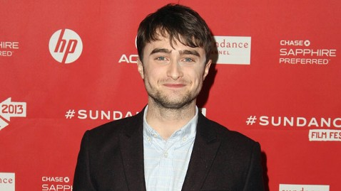 gty daniel radcliffe sundance jt 130119 wblog Daniel Radcliffe Says Hes Not Trying to Shock Anyone With His Sundance Film