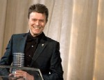PHOTO: David Bowie accepts the Webby Lifetime Achievement Award in 2007.