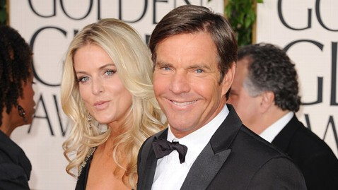 gty dennis kimberly quaid ll 120309 wblog Dennis Quaid Divorcing for a Third Time