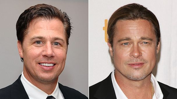 PHOTO: Doug and Brad Pitt