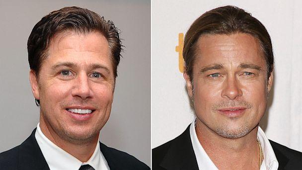 PHOTO: Doug and Brad Pitt
