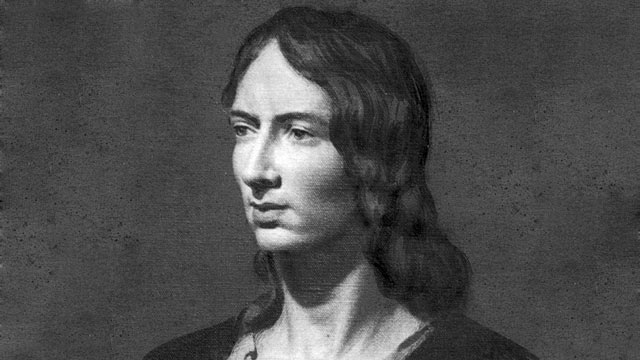 PHOTO: An oil painting of Emily Bronte (1818 - 1848), authoress of the novel 'Wuthering Heights,' published in 1847.