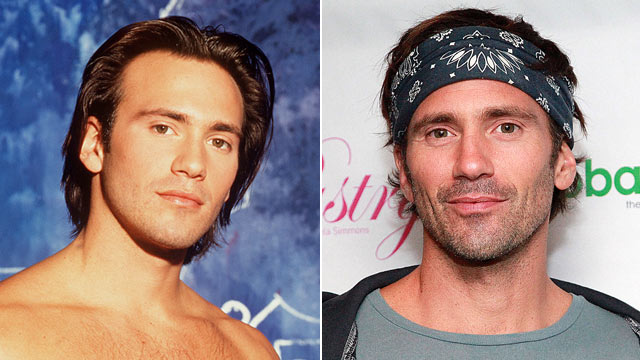 PHOTO:Eric Nies, is shown in 1992, left, and again in 2011.