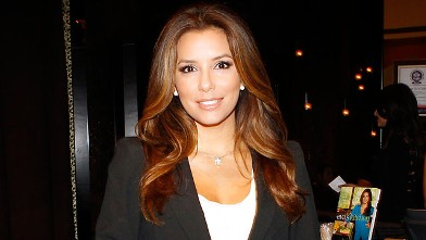 PHOTO: Eva Longoria dines at Beso restaurant at Crystals in CityCenter in this July 27, 2011 file photo in Las Vegas, Nevada.