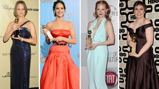 PHOTO: Golden Globe Big WInners