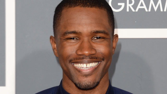 PHOTO: Singer Frank Ocean arrives at the 55th Annual GRAMMY Awards at Staples Center, Feb. 10, 2013, in Los Angeles.