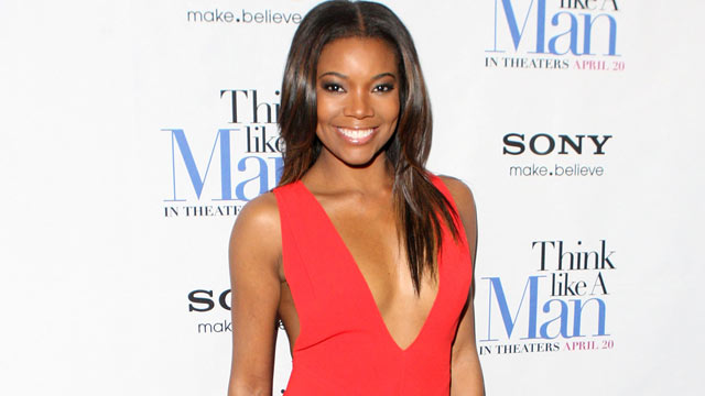 "PHOTO: Actress Gabrielle Union attends the ""Think Like a Man"" screening at the AMC Empire 25 theater, April 4, 2012 in New York City."