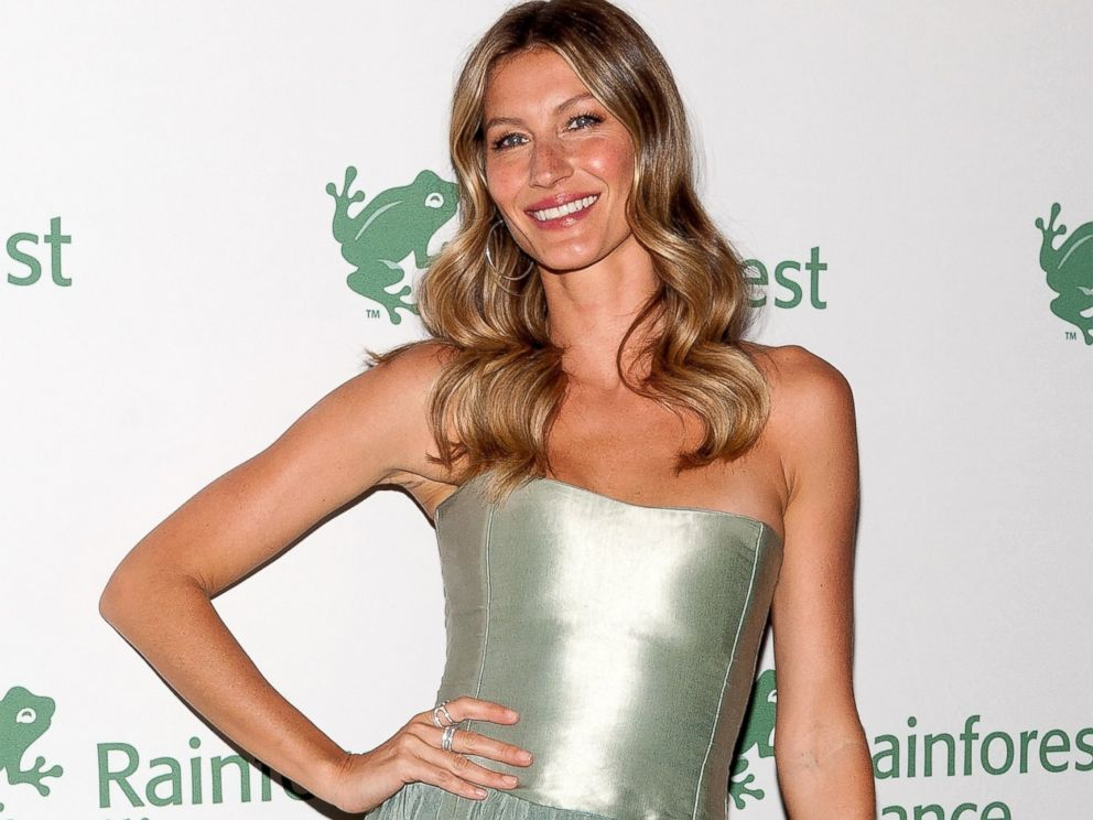 PHOTO: Gisele Bundchen attends the 2014 Rainforest Alliance Gala at the American Museum of Natural History on May 7, 2014 in New York City.