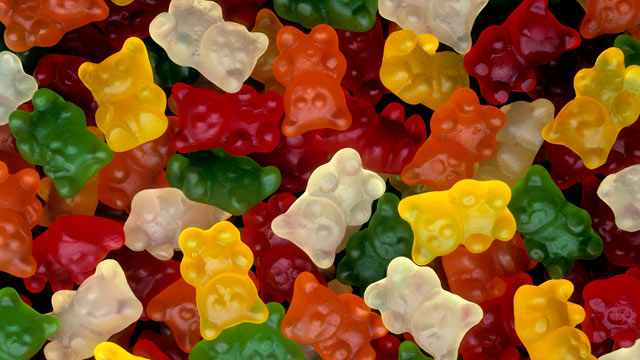 PHOTO: Homemade gummy bears make the perfect sweet holiday treat.