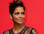 Halle Berry Shows Off Her Baby Bump