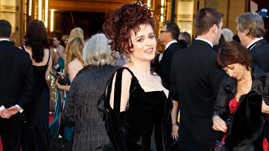 PHOTO: Actress Helena Bonham Carter arrives at the 83rd Annual Academy Awards held at the Kodak Theatre on February 27, 2011 in Hollywood, Calif.