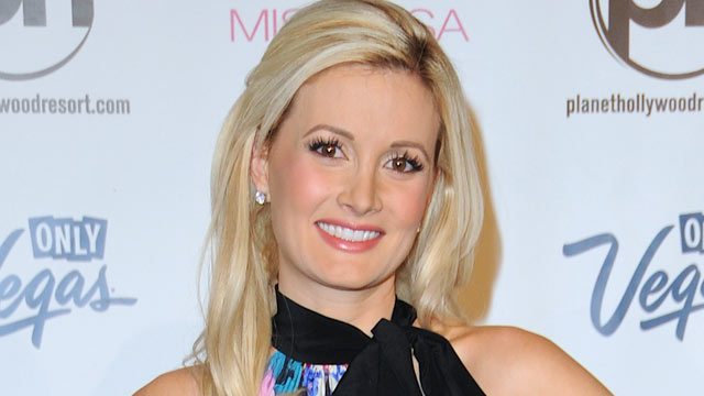 PHOTO: Holly Madison arrives at the 2013 Miss USA pageant at Planet Hollywood Resort & Casino on June 16, 2013 in Las Vegas.