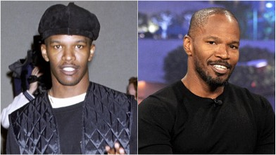 PHOTO: Jamie Foxx is seen in these 1994 and 2011 file photos.