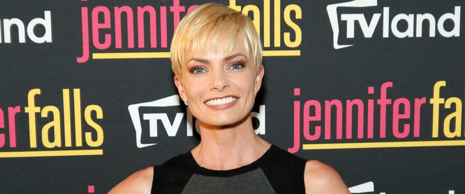 """PHOTO: Jaime Pressly at TV Lands """"Jennifer Falls"""" premiere party at Jimmy At The James Hotel in New York City, June 2, 2014."""