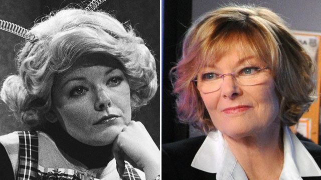 """PHOTO: Jane Curtin as Trixie during """"The Honeymooners"""" skit, May 29, 1976. 