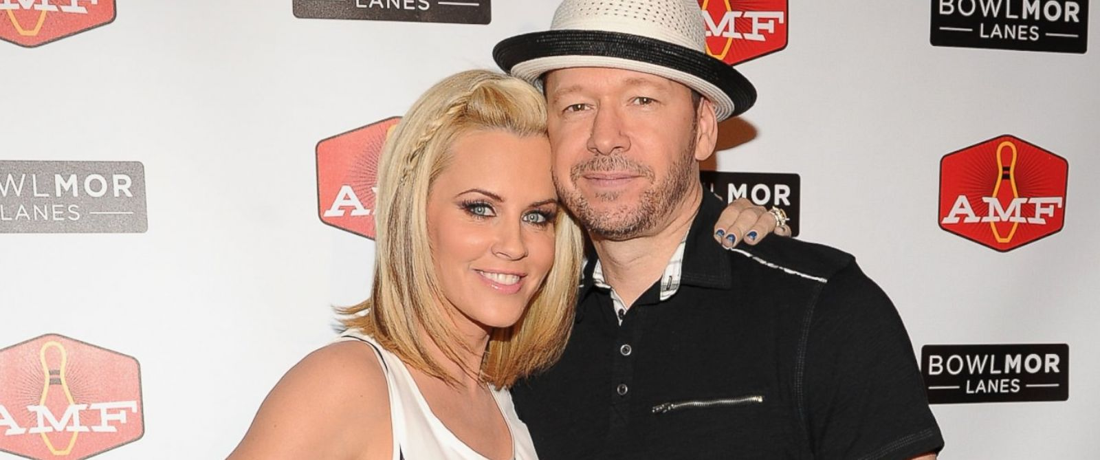 PHOTO: Jenny McCarthy and Donnie Wahlberg on June 21, 2014 in New York City.