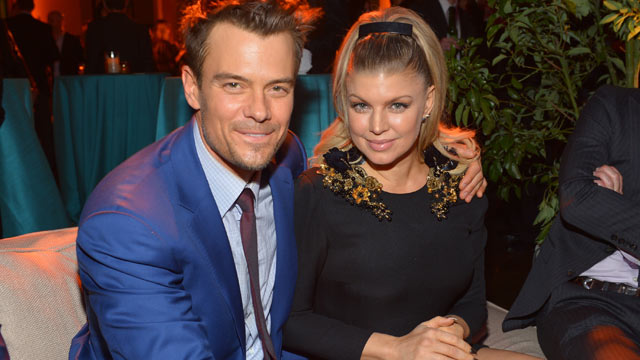 "PHOTO: Actor Josh Duhamel, left, and actress/singer Fergie attend the premiere of Relativity Media's ""Safe Haven"" after party at The Terrace At Hollywood & Highland, Feb. 5, 2013, in Hollywood, Calif."