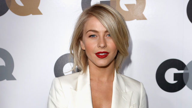PHOTO: Actress Julianne Hough arrives at the GQ Men of the Year Party at Chateau Marmont, Nov. 13, 2012 in Los Angeles, CA.