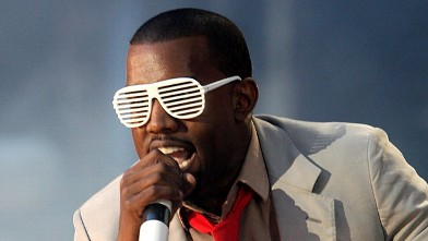 PHOTO: Kanye West performs on stage at the Concert for Diana at Wembley Stadium, July 1, 2007 in London, England.