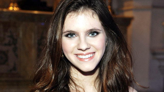 "PHOTO: Actress Kara Hayward attends ""The Blessed"" book release party at St. Ann's Church on October 3, 2012 in the Brooklyn borough of New York City."