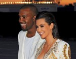 """PHOTO: Kanye West and Kim Kardashian attend Kanye West hosts The """"Cruel Summer"""" Presentation, May 23, 2012 in Cannes, France."""