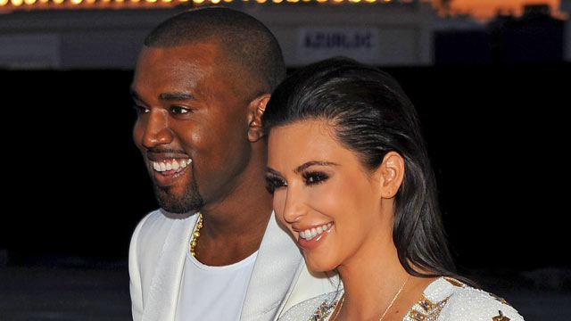 "PHOTO: Kanye West and Kim Kardashian attend Kanye West hosts The ""Cruel Summer"" Presentation, May 23, 2012 in Cannes, France."