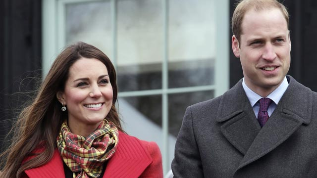 PHOTO: Catherine and Prince William take a visit to Dumfries House, March 05, 2013, in Ayrshire, Scotland.