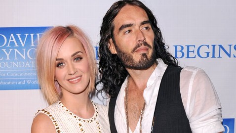 gty katy perry russell brand thg 120203 wblog Katy Perry, Russell Brand Reach Divorce Settlement