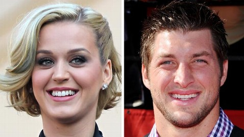 gty katy perry tim tebow jef 120112 wblog Katy Perry and Tim Tebow: A Match Made in Heaven?