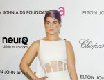 PHOTO: Kelly Osbourne arrives at the 21st Annual Elton John AIDS Foundation Academy Awards viewing party held at West Hollywood Park, Feb. 24, 2013 in West Hollywood, Calif.