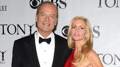 PHOTO: Kelsey Grammer and Camille Grammer attends the 64th Annual Tony Awards at Radio City Music Hall, June 13, 2010 in New York City.