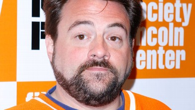 "PHOTO: Kevin Smith attends the 49th Annual New York Film Festival screening of ""The Adventures of Buckaroo Banzai Across the 8th Dimension"" at Alice Tully Hall, October 15, 2011 in New York City."