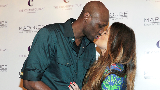 PHOTO:Lamar Odom and Khloe Kardashian