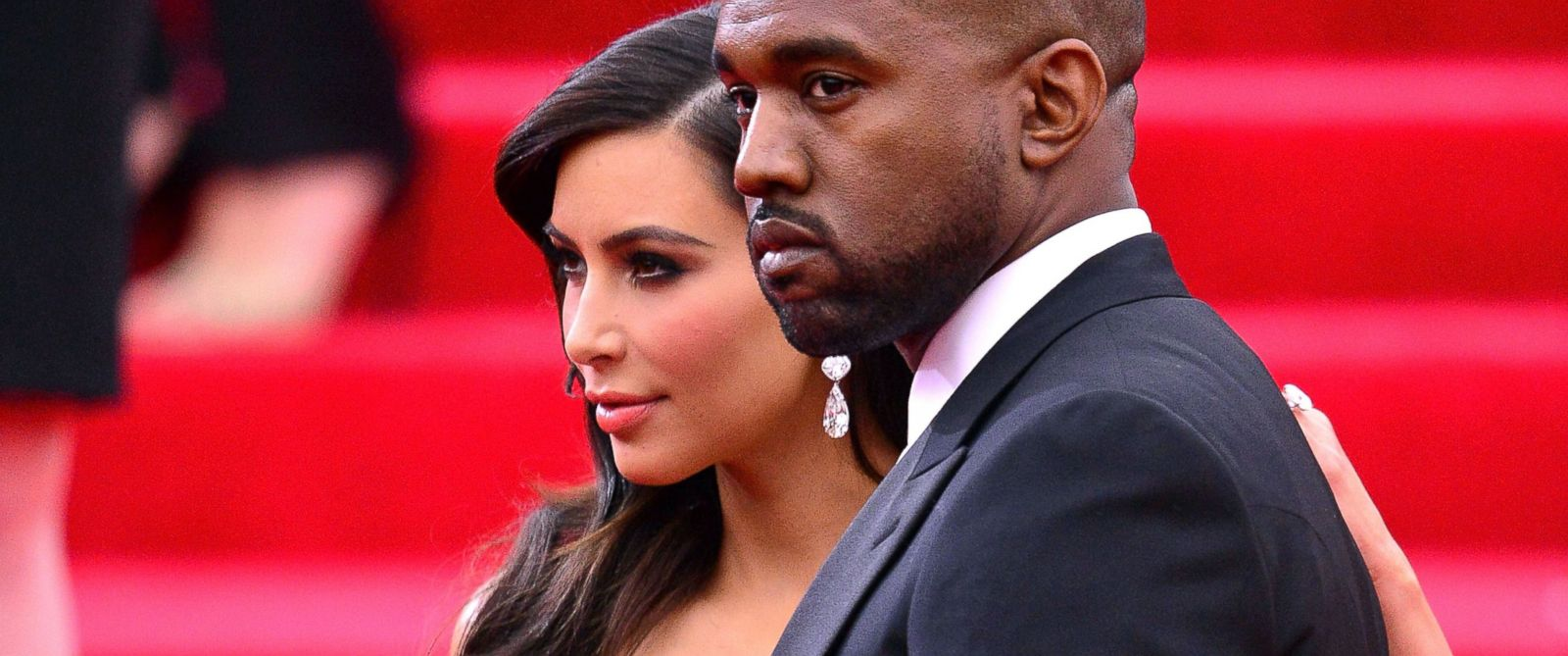 """PHOTO: Kim Kardashian and Kanye West attend the """"Charles James: Beyond Fashion"""" Costume Institute Gala, May 5, 2014 in New York City."""