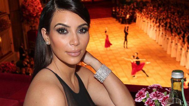 Kim Kardashian attends the traditional Vienna Opera Ball at the Vienna State Opera on February 27, 2014 in Vienna, Austria.