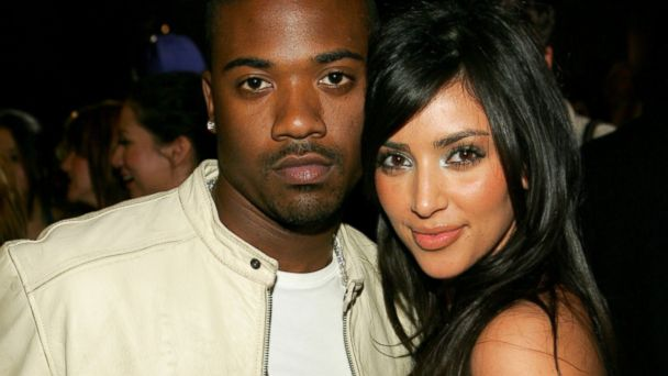 PHOTO: Ray J and Kim Kardashian are seen at Charlotte Ronsons Fall/Winter fashion show after party on March 22, 2006.