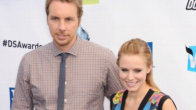 PHOTO: Dax Shepard and Kristen Bell arrive at the 2012 Do Something Awards, Aug. 19, 2012, in Santa Monica, Calif.