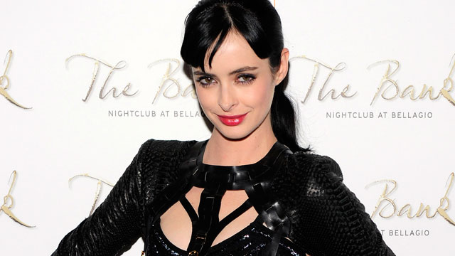 PHOTO: Krysten Ritter arrives for birthday celebration at The Bank Nightclub at the Bellagio on Dec. 15, 2012, in Las Vegas, Nevada.